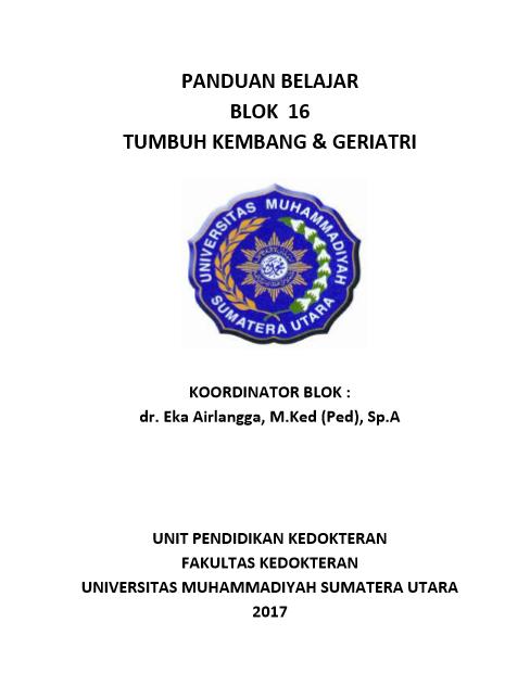 Buku Blok 16