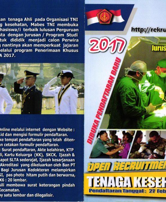 OPEN RECRUITMENT TENAGA KESEHATAN TNI