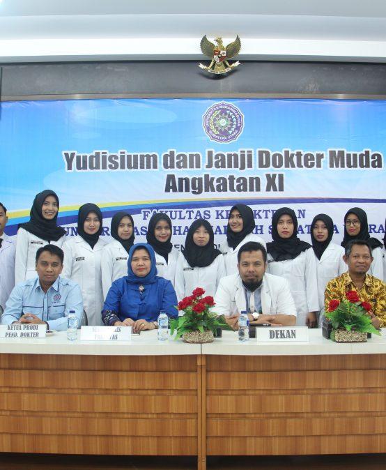 Yudisium dan Janji Dokter Muda Angkatan XI