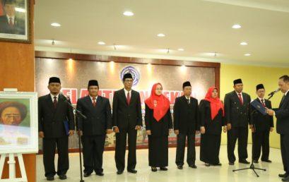 Rektor Lantik Para Dekan di Lingkungan UMSU 2017-2021