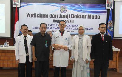 Yudisium dan Janji Dokter Muda Angkatan XII
