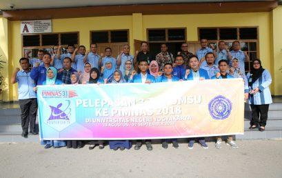 Pelepasan 3 Tim UMSU ke PIMNAS 2018