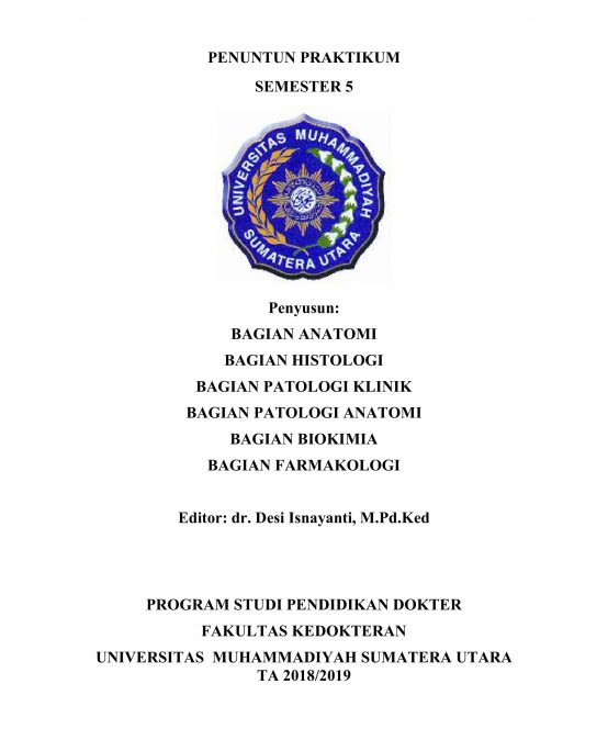 Panduan Praktikum Semester 5    2018-2019