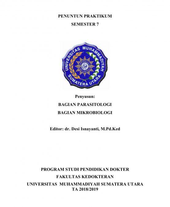 Panduan Praktikum Semester 7  2018-2019