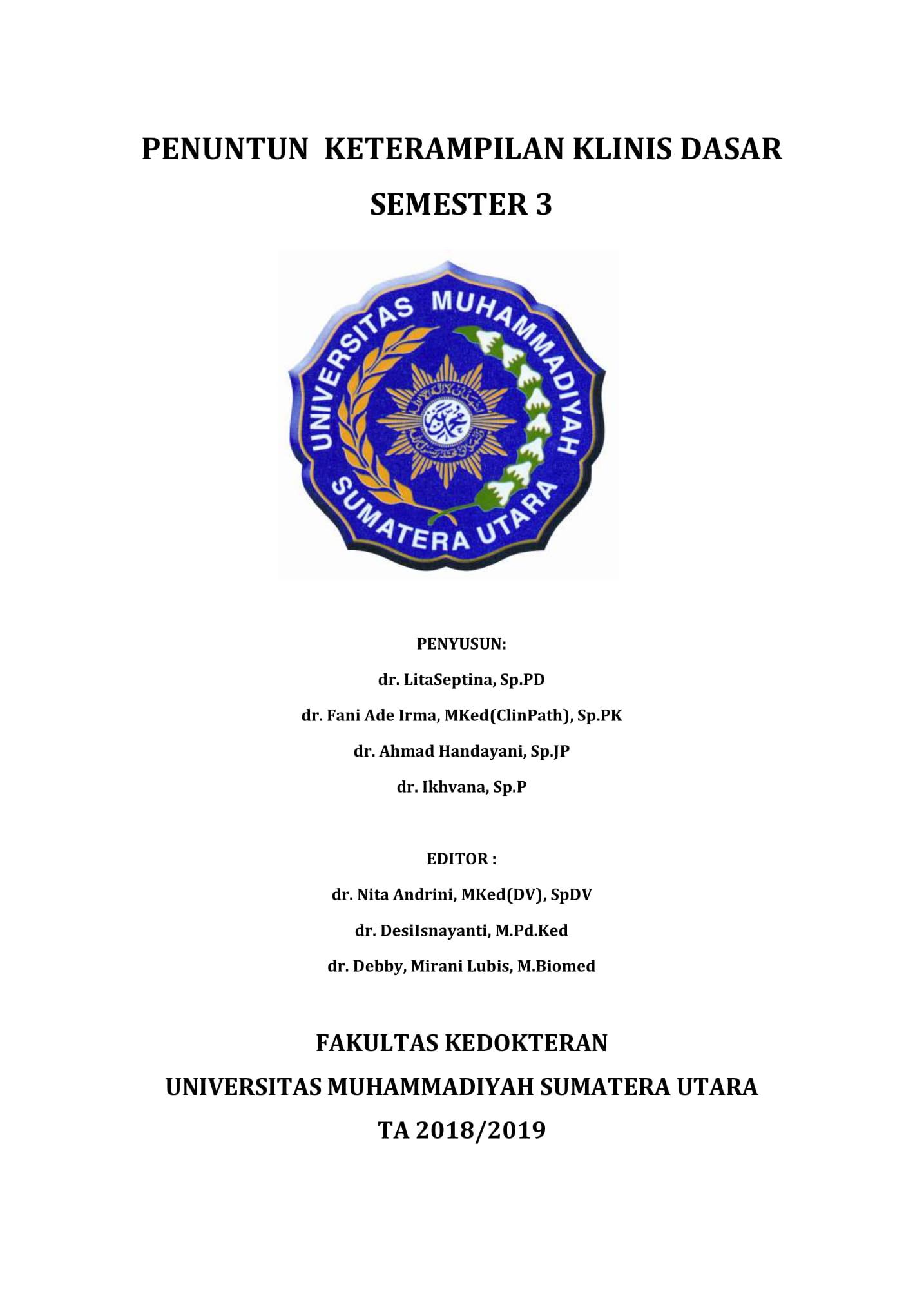 Penuntun KKD Semester 3 2018-2019