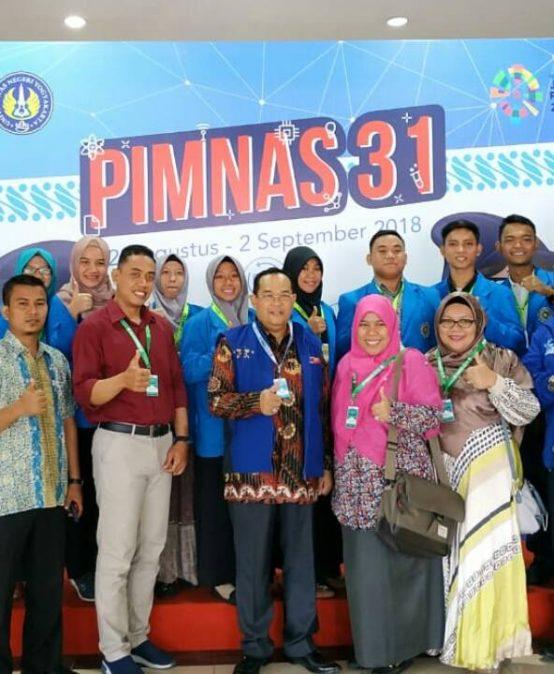 Tim PKM-PE Kemenristek Dikti dari Fakultas Kedokteran UMSU mengikuti PIMNAS 31 di Universitas Negeri Yogyakarta.