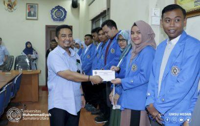 Mahasiswa UMSU Terima Beasiswa dari Gubernur Sumut