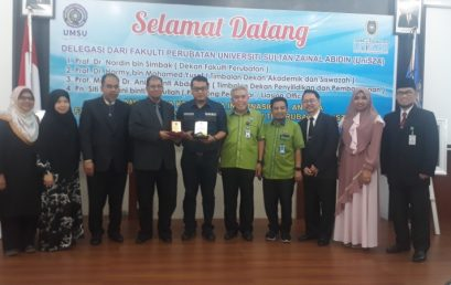 FK UMSU Jajaki Kerjasama dengan Fakulti Perubatan UniSZA Malaysia