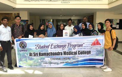 Student Exchange Program di Sri Ramachandra Medical College, Chennai, India