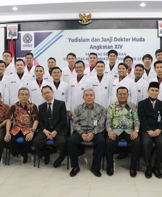 FK UMSU Lantik 100 Dokter Muda Angkatan XIV