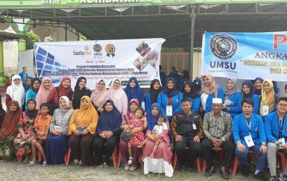 Pengmasy PKBK FK UMSU di Mesjid Al Hidayah Kelurahan Titi Kuning Kecamatan Medan Johor