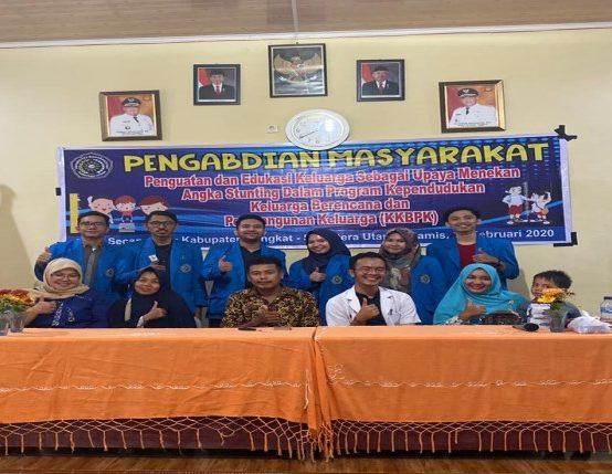 Dosen FK UMSU Adakan PKM Penguatan dan Edukasi Keluarga Tekan Stunting di Secanggang